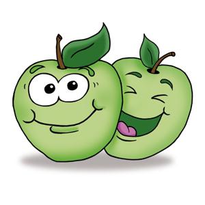 Xylitol Chewing Gums für Kinder Geschmack Apfel